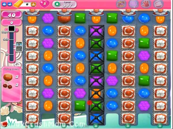 candy crush level 337