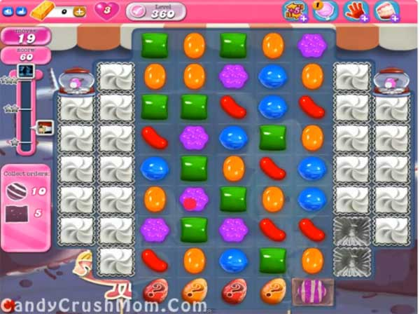 candy crush level 360