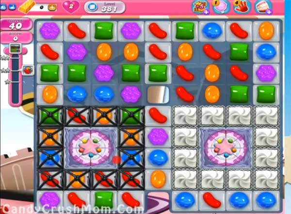 candy crush level 381