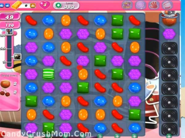 candy crush level 383