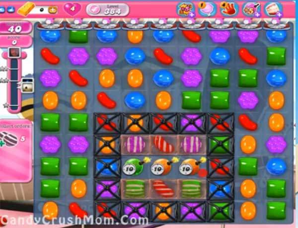 candy crush level 384