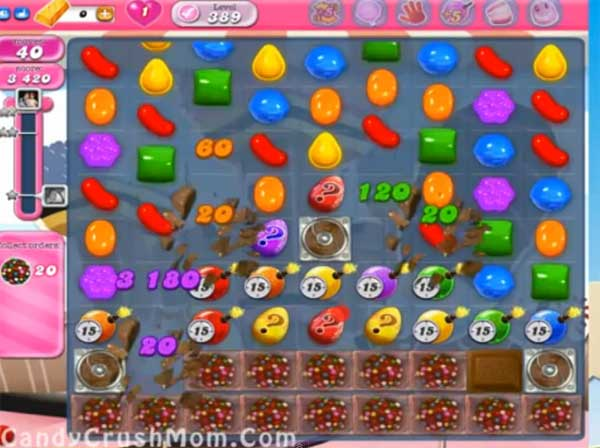 candy crush level 389
