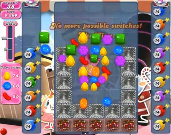 candy crush level 391