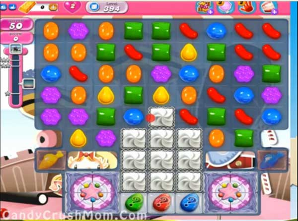 candy crush level 394
