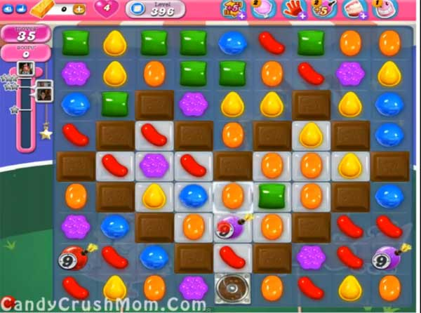 candy crush level 396