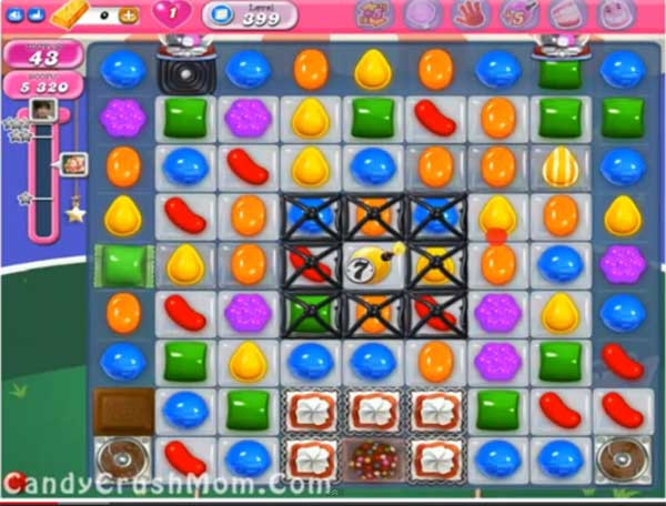 candy crush level 399