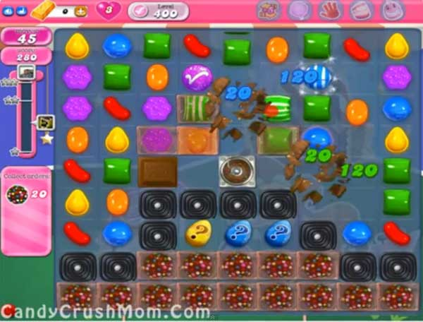 candy crush level 400