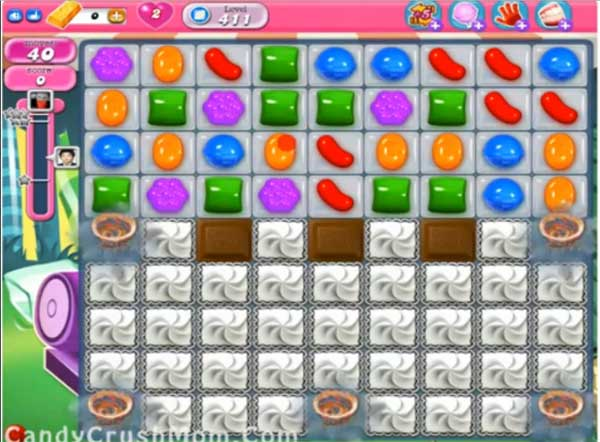 candy crush level 411