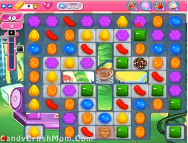 candy crush level 414