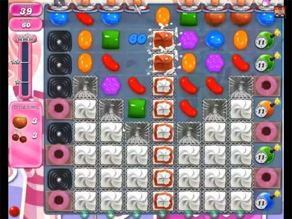 candy crush level 495