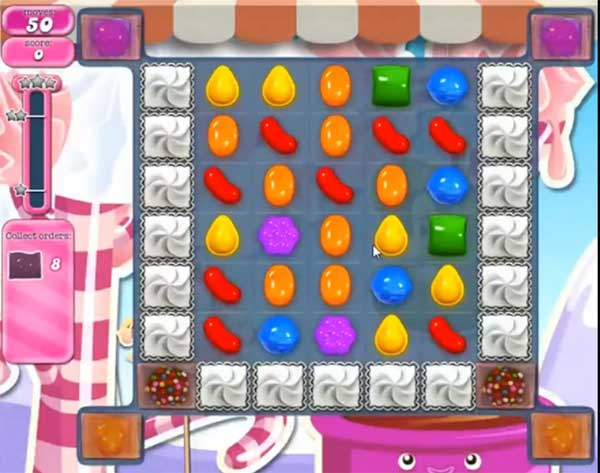 candy crush level 497