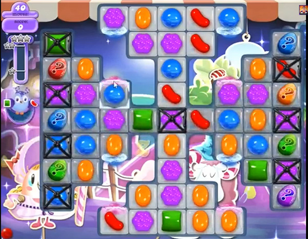 Candy Crush Dreamworld Level 458