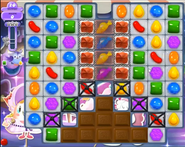 Candy Crush Dreamworld Level 461