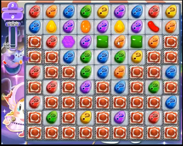 Candy Crush Dreamworld Level 463