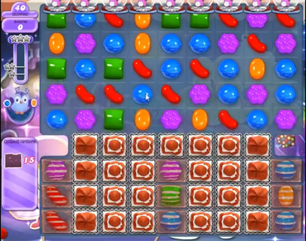 Candy Crush Dreamworld Level 464