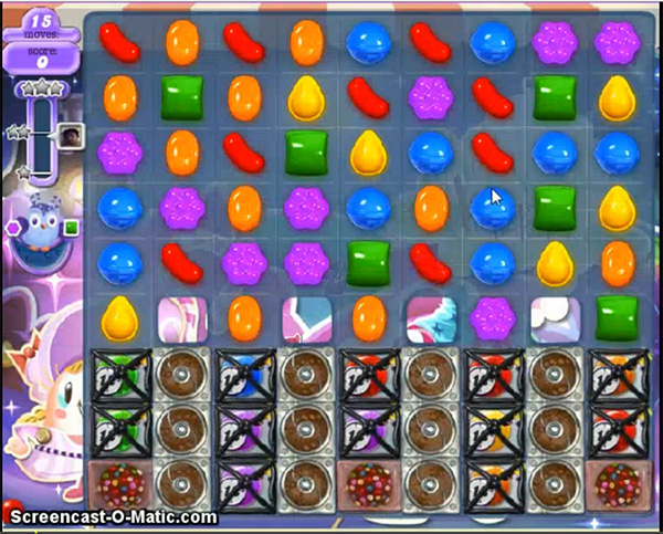 Candy Crush Dreamworld Level 470