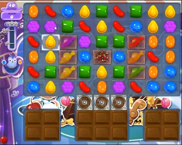 Candy Crush Dreamworld Level 485