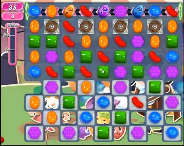 Candy Crush Level 556