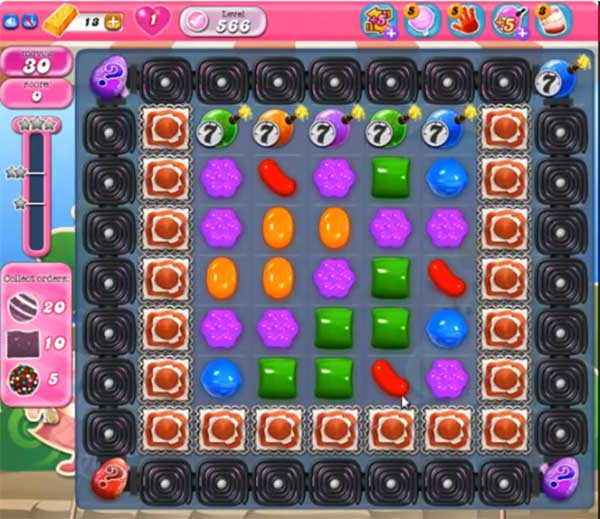 Candy Crush Level 566