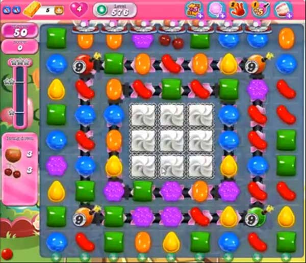 Candy Crush Level 576