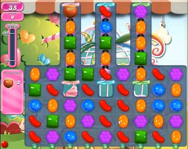 Candy Crush Level 586