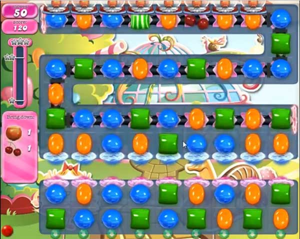 Candy Crush Level 587