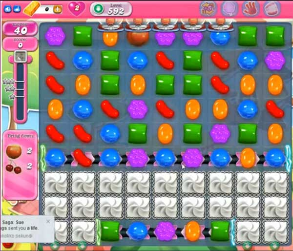 Candy Crush Level 592