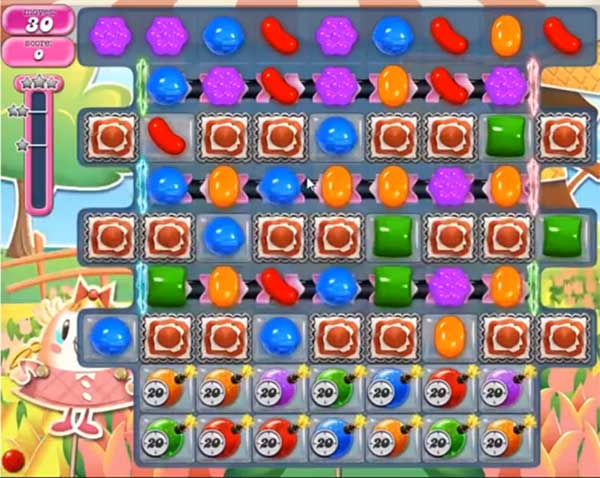 Candy Crush Level 595