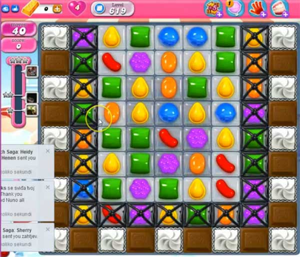 Candy Crush Level 619