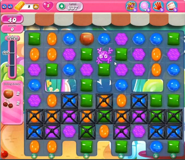 Candy Crush Level 637