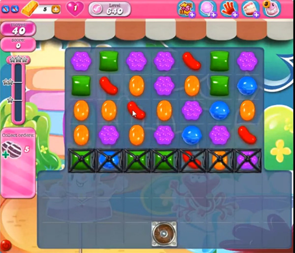 Candy Crush Level 640