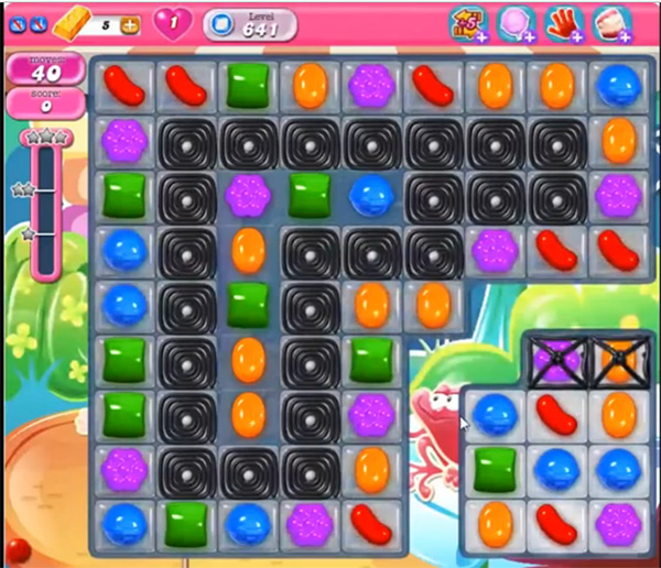 Candy Crush Level 641
