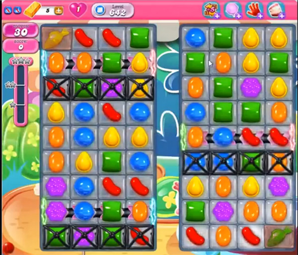 Candy Crush Level 642