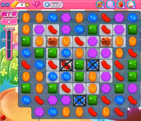 Candy Crush Level 643