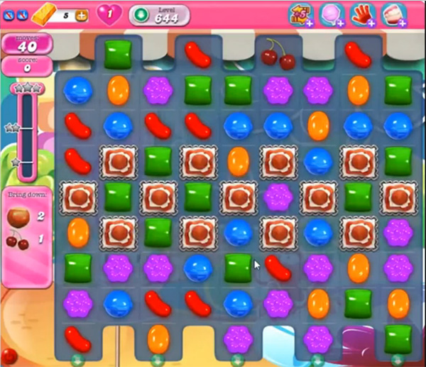 Candy Crush Level 644