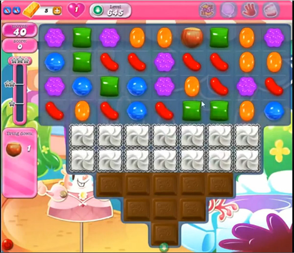 Candy Crush Level 645