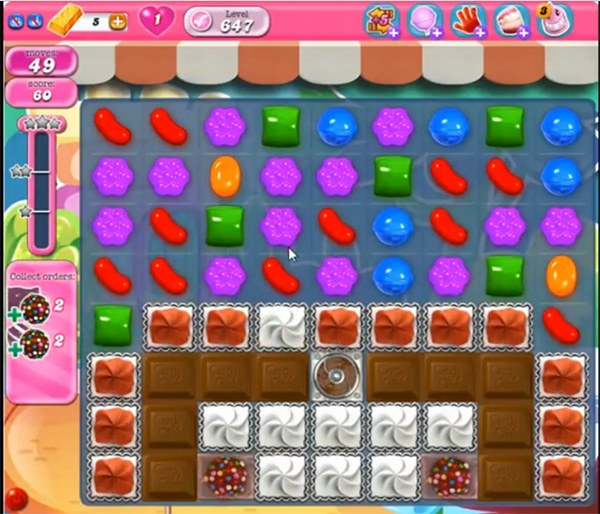Candy Crush Level 647