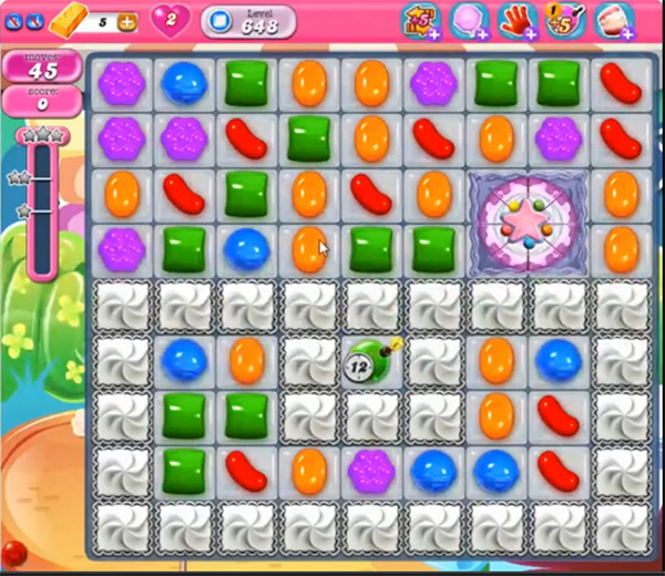 Candy Crush Level 648