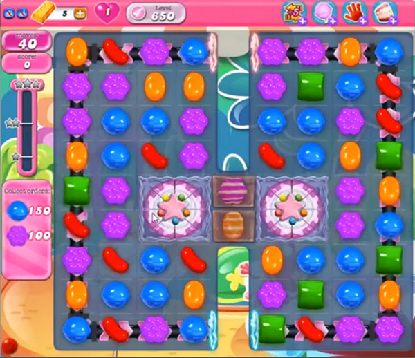 Candy Crush Level 650