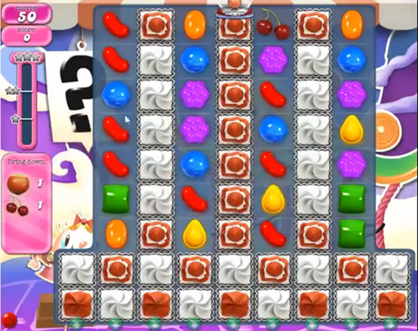 Candy Crush Level 661