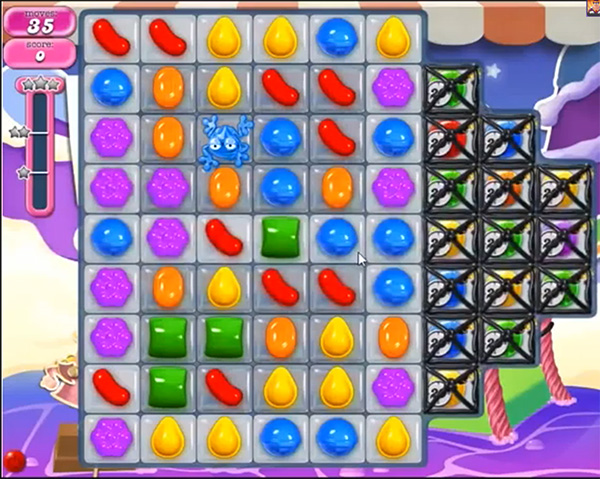 Candy Crush Level 663