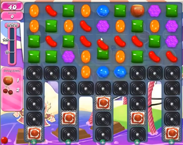 Candy Crush Level 664