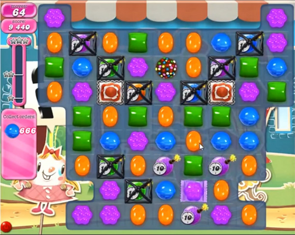 Candy Crush Level 666