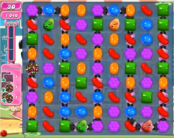 Candy Crush Level 670
