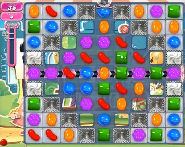Candy Crush Level 673
