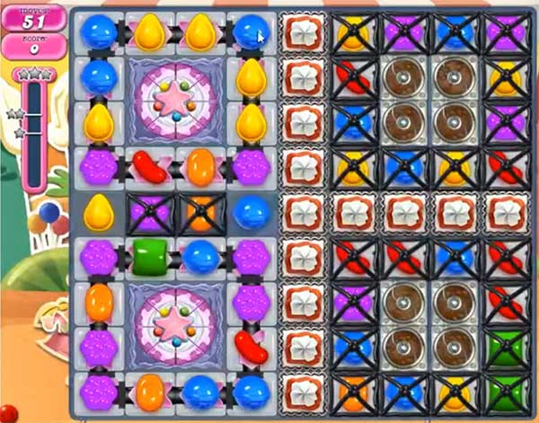 Candy Crush Level 695