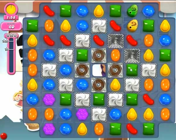 Candy Crush Level 698