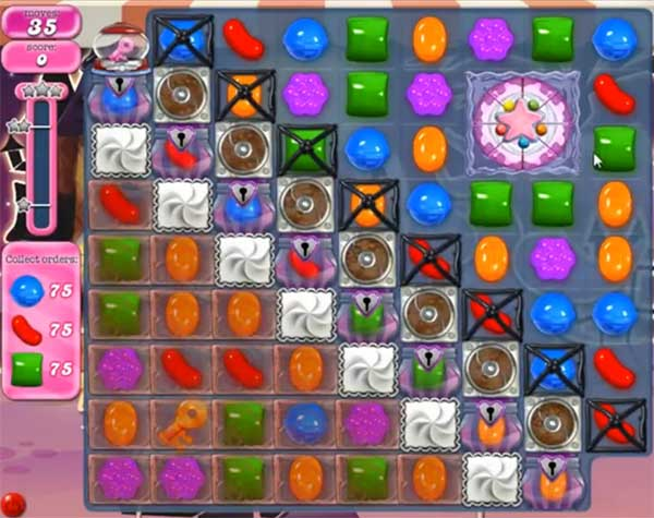 Candy Crush Level 712