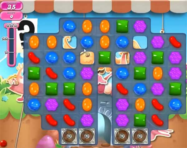 Candy Crush Level 735