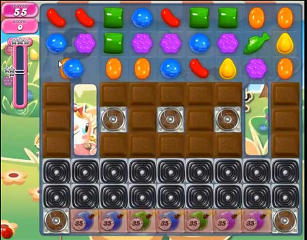 Candy Crush Level 747